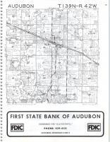 Audobon T139N-R42W, Becker County 1980